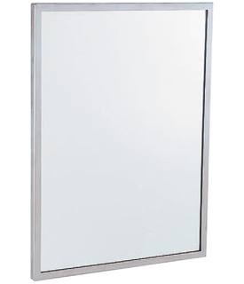 "Gamco C-Series Channel Frame Mirror - 18"" x 36"""