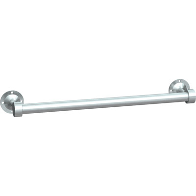 "ASI 0755-SS18 18"" Heavy-Duty Stainless Steel Towel Bar"