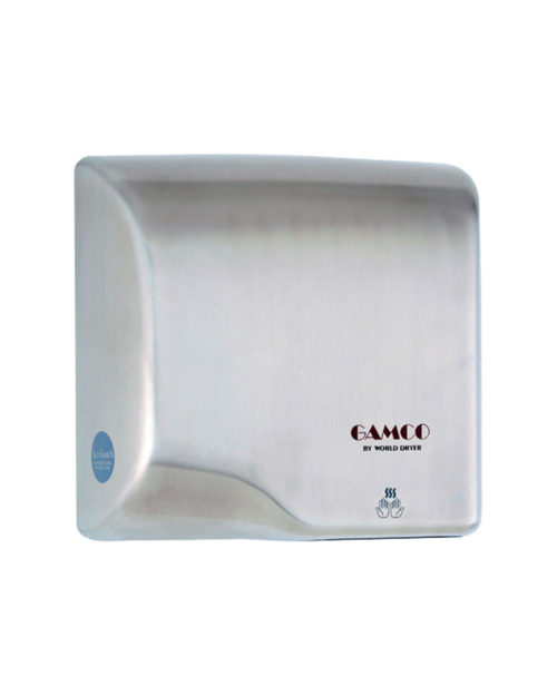 Gamco DR-5128 Surface-Mounted Hand Dryer - Stainless Steel Cover