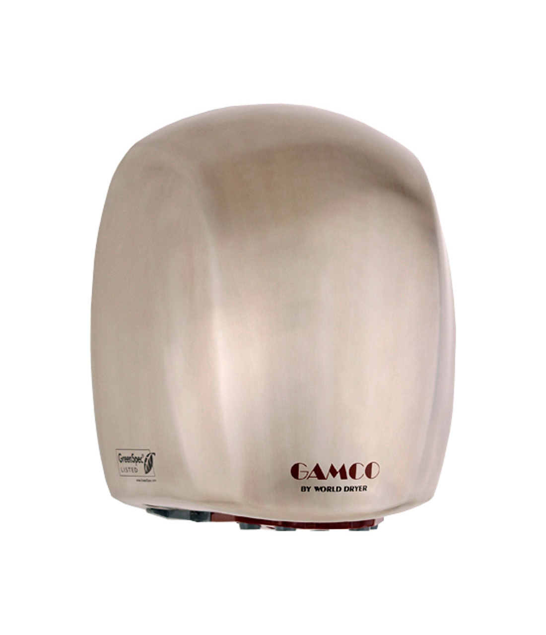 Gamco DR-578 115V Surface-Mounted Hand Dryer - Stainless Steel Cover