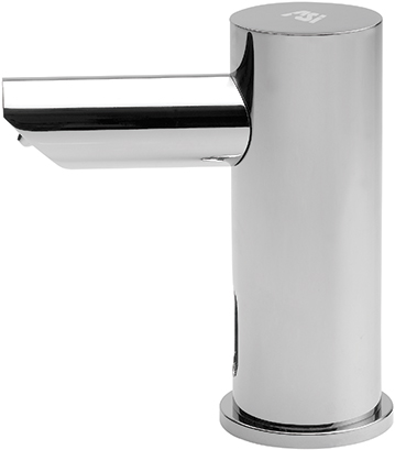 American Specialties 0391-1AC EZ-Fill Automatic Vanity Mounted Individual Soap Dispenser (Plug In)