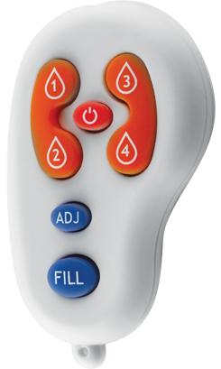 American Specialties 0390-R EZ-Fill Remote Control