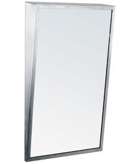 "Gamco FT-Series Fixed-Tilt Mirror 18"" x 36"""