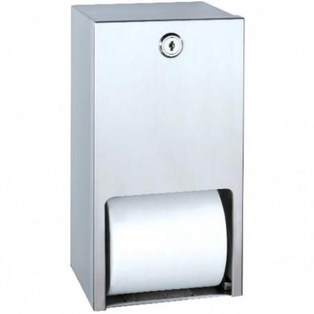 Bradley 5402 Dual Roll Toilet Paper Dispenser