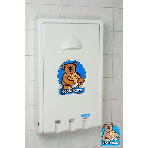 Koala Kare KB101-05 Vertical Baby Changing Station - White Granite