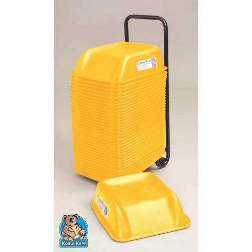Koala Kare KB324-07 Yellow Cinema Booster Seat