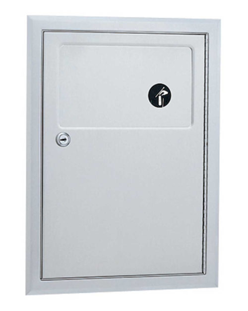 Gamco ND-6 Partition-Mounted Sanitary Napkin Disposal