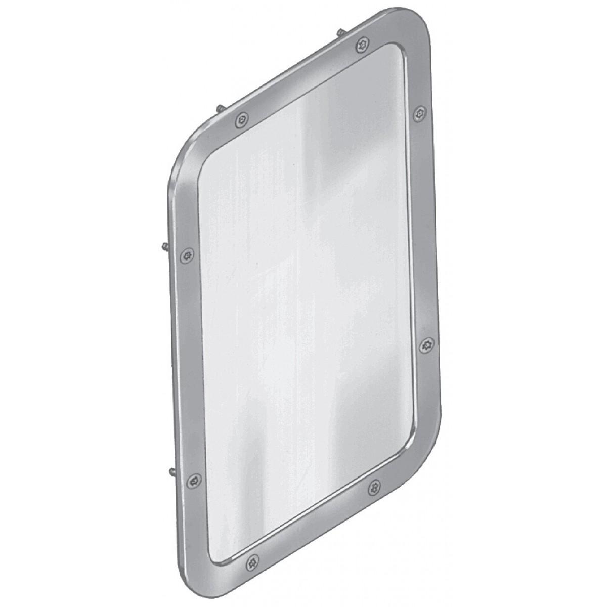 "Bradley SA05 Security Framed Wall Mirror 11-1/4"" x 17-1/4"""
