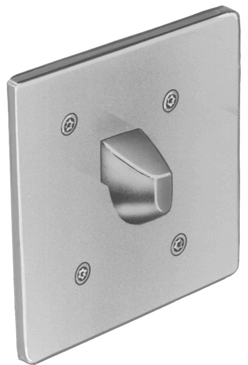 Bradley SA31 Security Towel Hook - Front Mounted