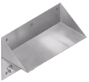 Bradley SA52 Security Bookshelf with Friction Hold Hooks - Front Mounted