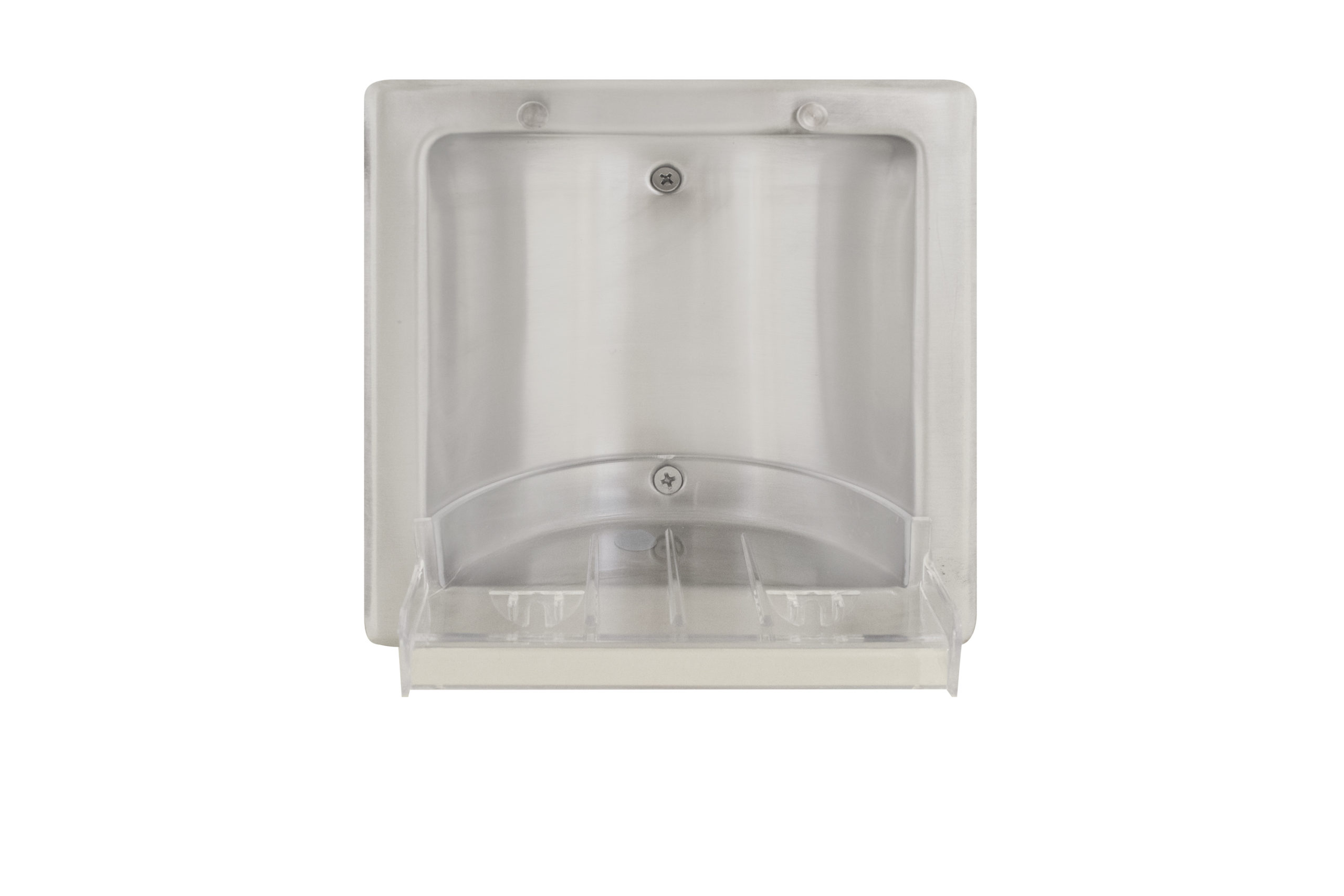 Bradley 9353 Recessed Stainless Steel Soap Dish - Satin