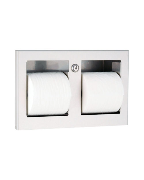 Gamco TTD-9 Recessed Multi-Roll Toilet Tissue Dispenser