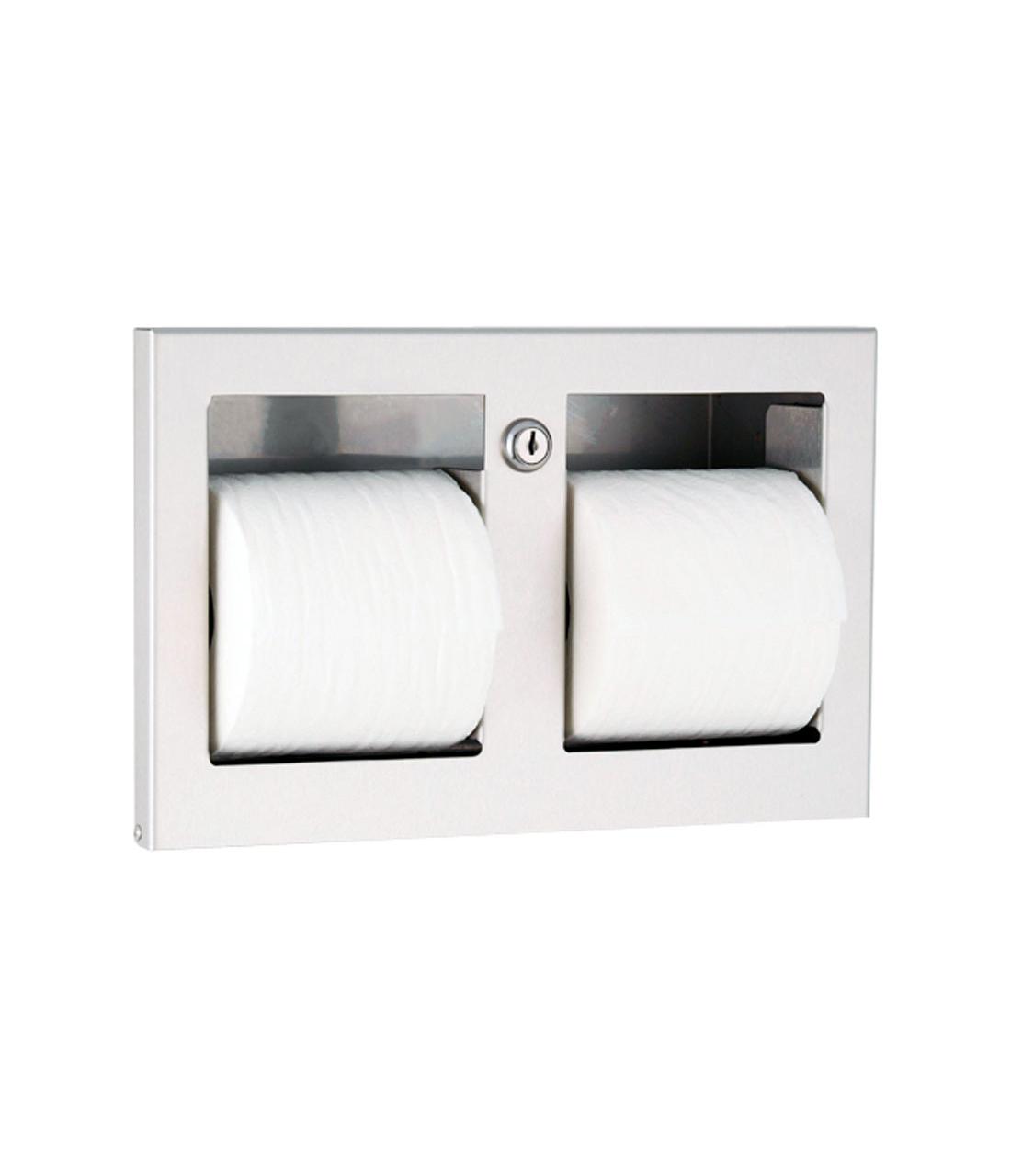 Gamco TTD-9 Recessed Multi-Roll Toilet Tissue Dispenser