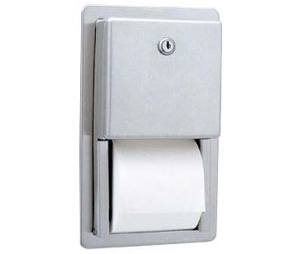 Gamco TTD-6 Recessed Multi-Roll Toilet Tissue Dispenser